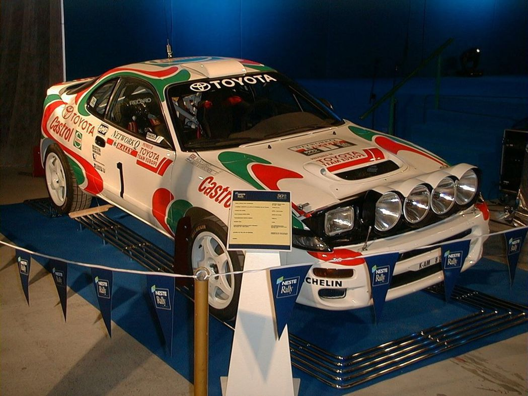 1993 Toyota Celica GT-FOUR WRC。 摘自Wiki