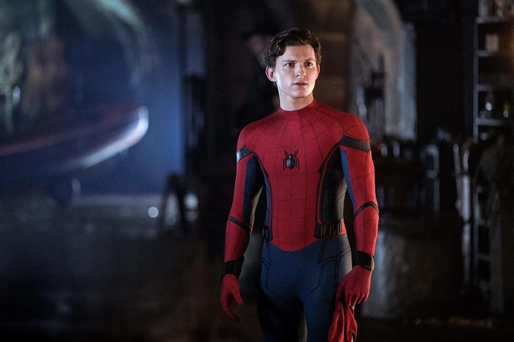 「蜘蛛人」湯姆霍蘭德。圖/索尼提供
