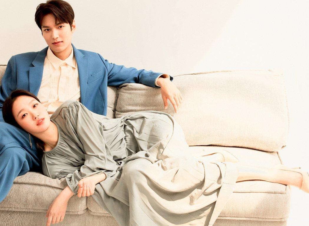 李敏鎬和金高銀首次合作。圖/Netflix提供