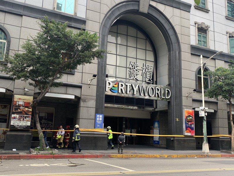 林森錢櫃發生嚴重火警。記者蕭雅娟/攝影