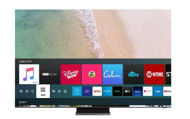 現在只要從Samsung Smart TV App Store下載Apple M...