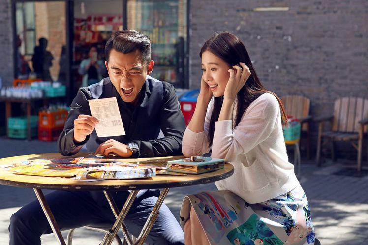 劉詩詩(右)、鄭愷合作「那年青春我們正好」。圖/中天提供