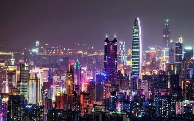 深圳第1季GDP總值為人民幣5,785.60億元,年降6.6%。照片/騰訊網