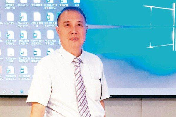 材料-KY董事長王克璋 (本報系資料庫)