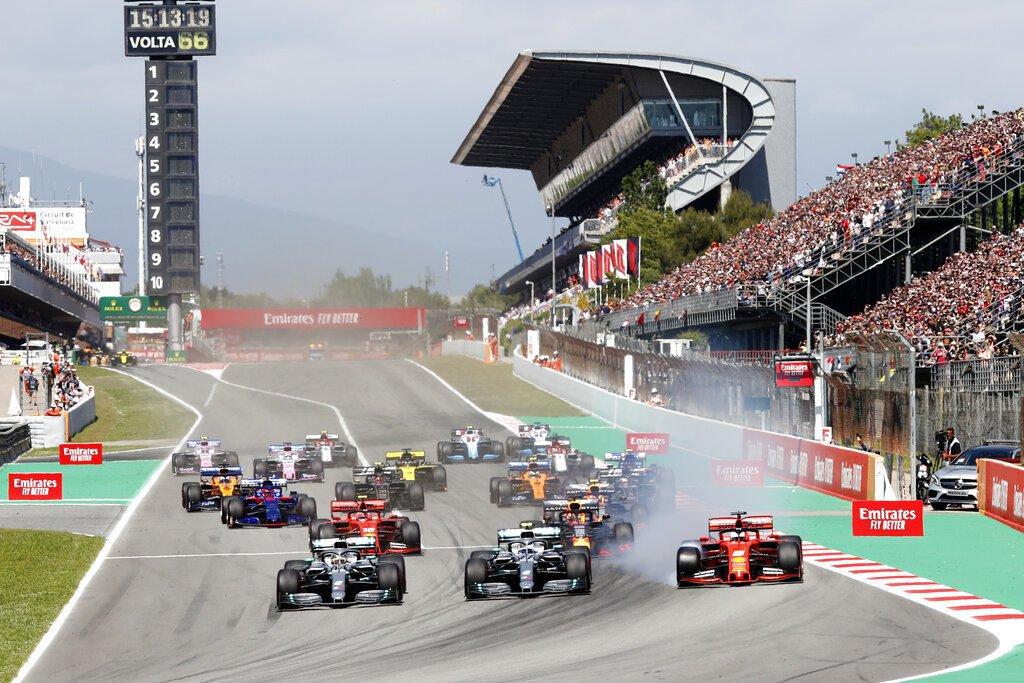 F1賽季希望最終能於7月5日在奧地利大獎賽展開;英國站賽事則將閉門舉行。 美聯社