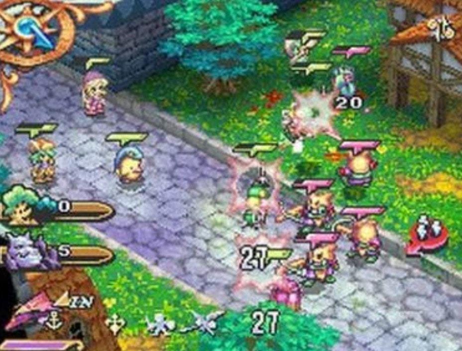《聖劍傳說 HEROES OF MANA》改為即時SLG(遊戲截圖)