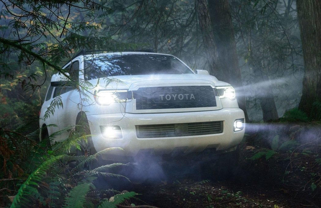 Toyota Sequoia全尺寸大型休旅車。 摘自Toyota