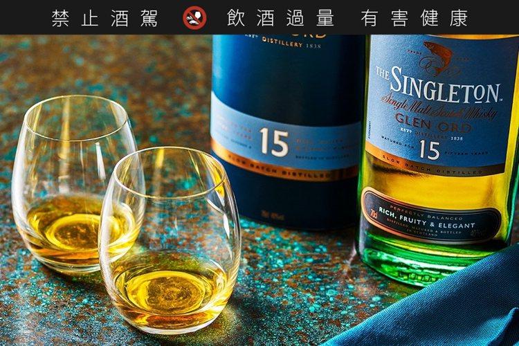 蘇格登15年單一麥芽威士忌,建議售價2,080元。圖/帝亞吉歐提供