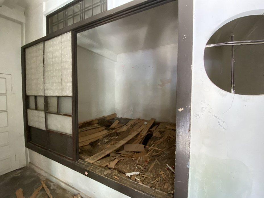 日治时期台南名人汤德章律师的故居至今保存完整,图为汤德章的卧室,保留日式的风格。。记者修瑞莹/摄影