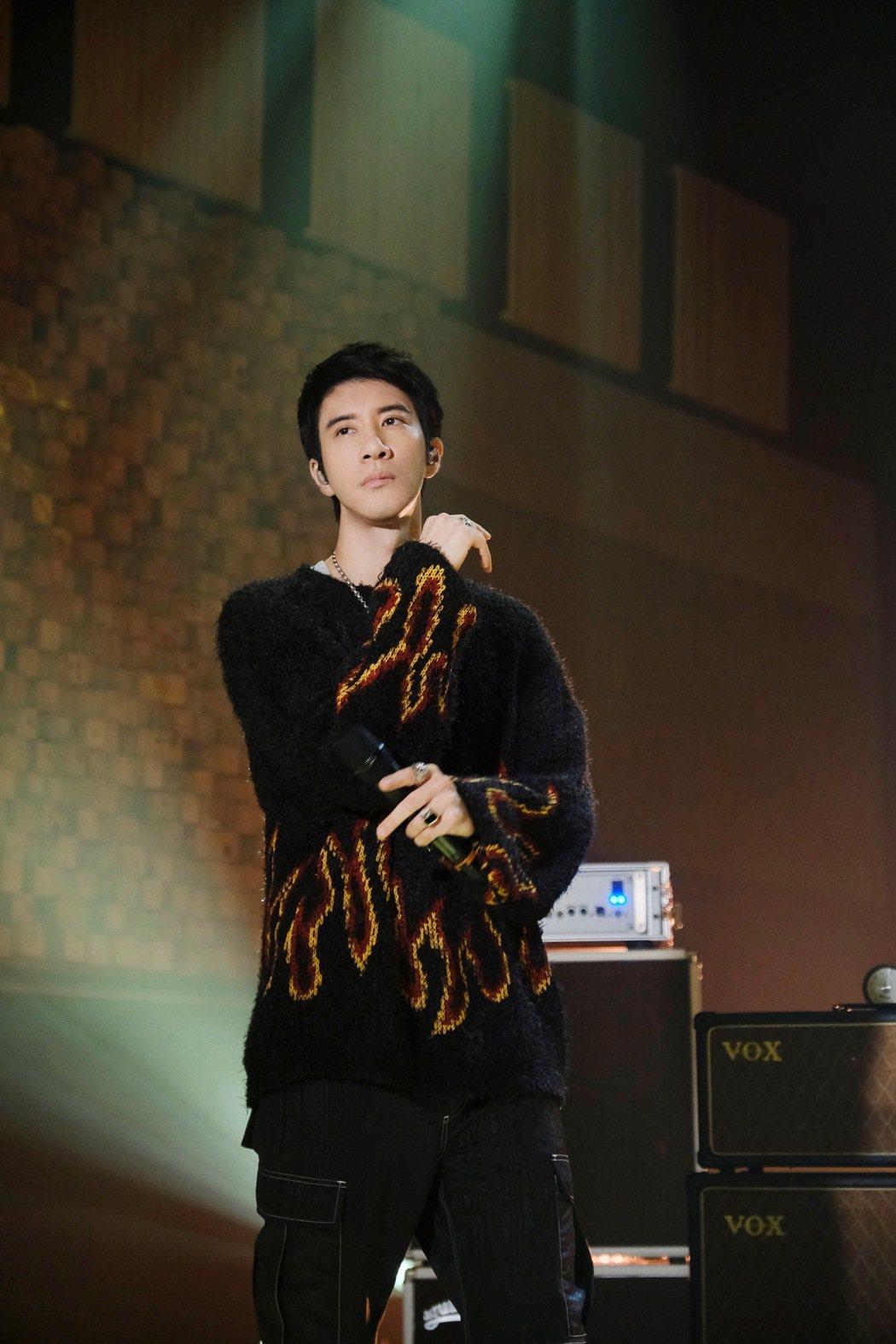 王力宏在節目中展現快嘴功力。圖/宏聲音樂提供