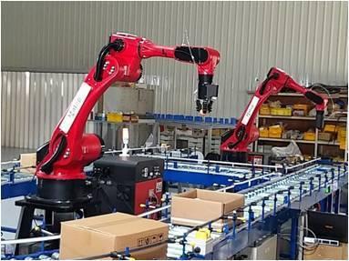 物流中心、自動倉庫自動化搬送設備。光電科技工業協進會(PIDA)/提供