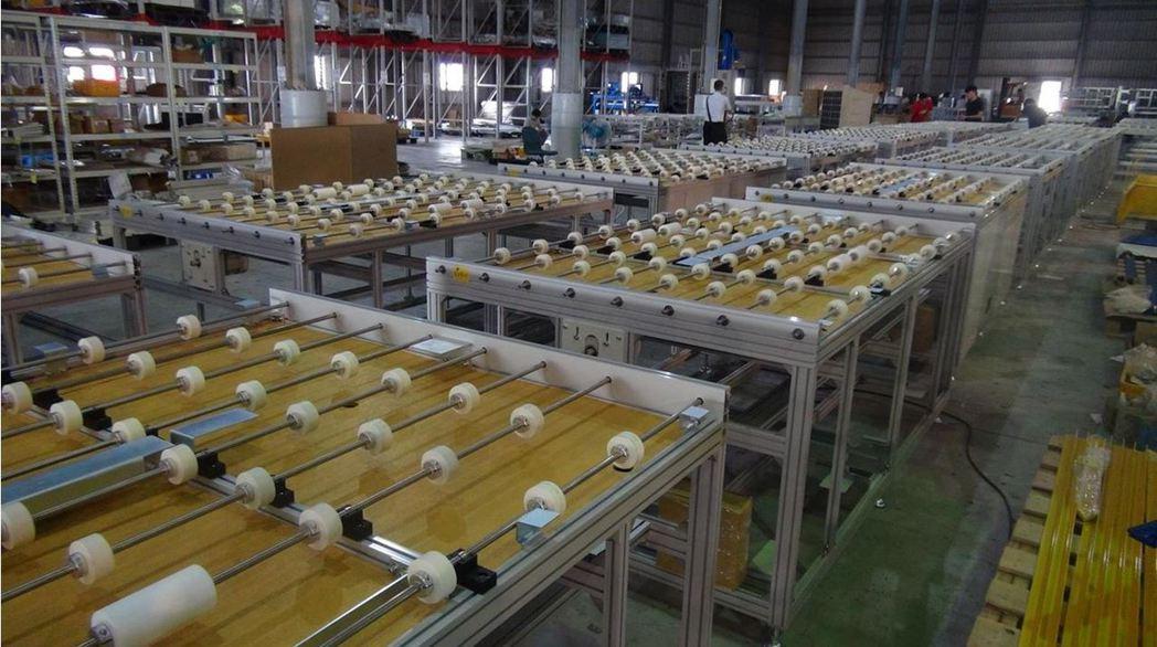 高效薄膜太陽能面板真空層壓模組。光電科技工業協進會(PIDA)/提供