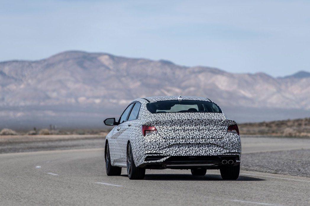 全新Hyundai Elantra/Avante N Line預計在五月中旬會在...