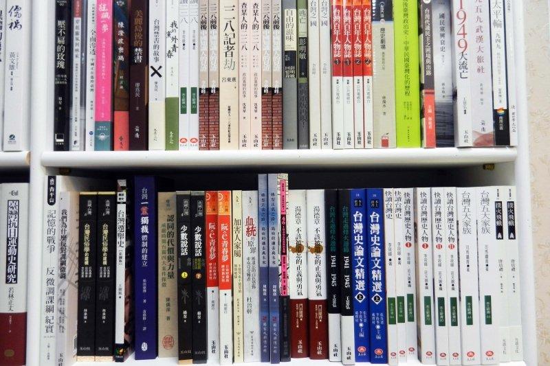 銅鑼灣書店未來的選書方向將逐漸以台灣為重心,並提供來自香港的觀點,幫助台灣釐清、探問和中國的關係。 圖/作者提供