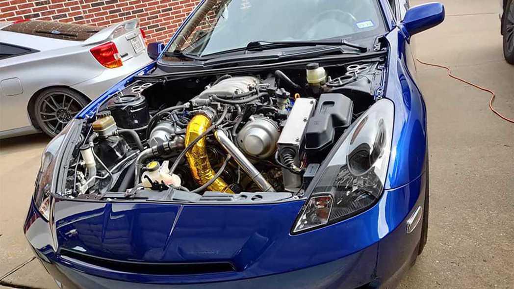 這顆Lexus的4.3升V8引擎有320匹馬力的輸出。 摘自FacebookMa...