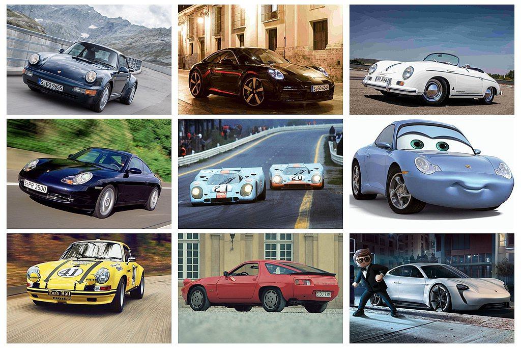 德國保時捷跑車不僅聞名全球市場,在許多經典電影中也大量現身。 圖/Porsche...