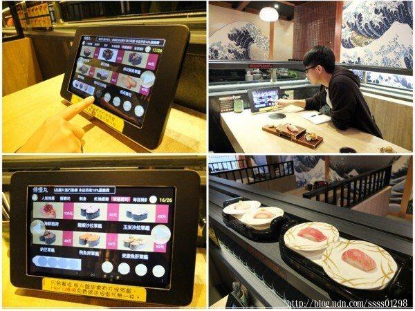 以平板電腦點餐+自動化列車送餐,不僅快速、操作方便,而且非常容易上手