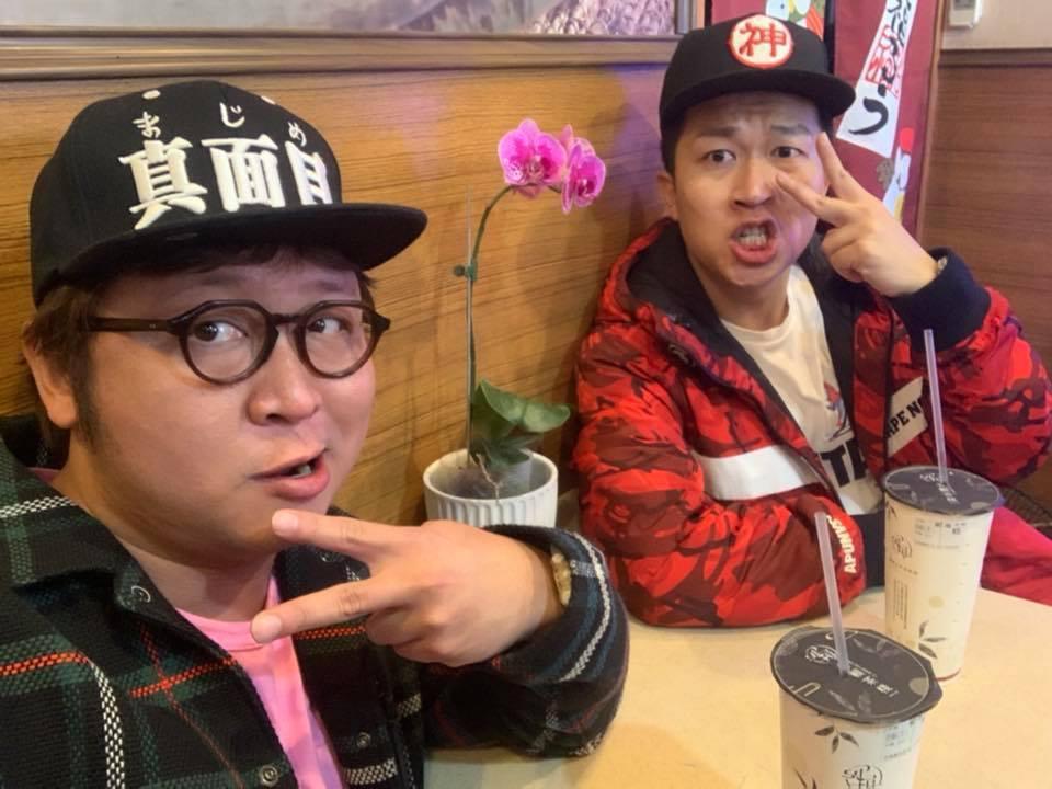 納豆和張立東在「食尚玩家」裡都戴著帽子,原來背後有其原因。圖/納豆臉書
