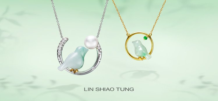 林曉同珠寶在母親節前夕推出結合珍珠的全新青鳥作品,為媽媽捎來幸福。圖/林曉同珠寶...