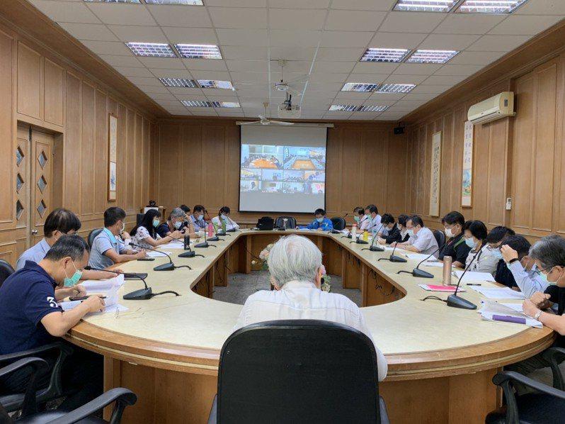 台灣港務公司今舉行防疫兵推。圖/台灣港務公司提供