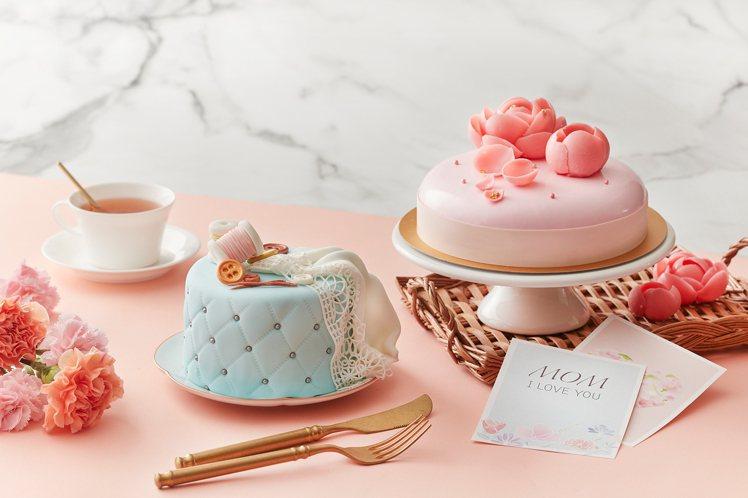 台北喜來登The Deli「繪馨SMILE」蛋糕。圖/台北喜來登提供