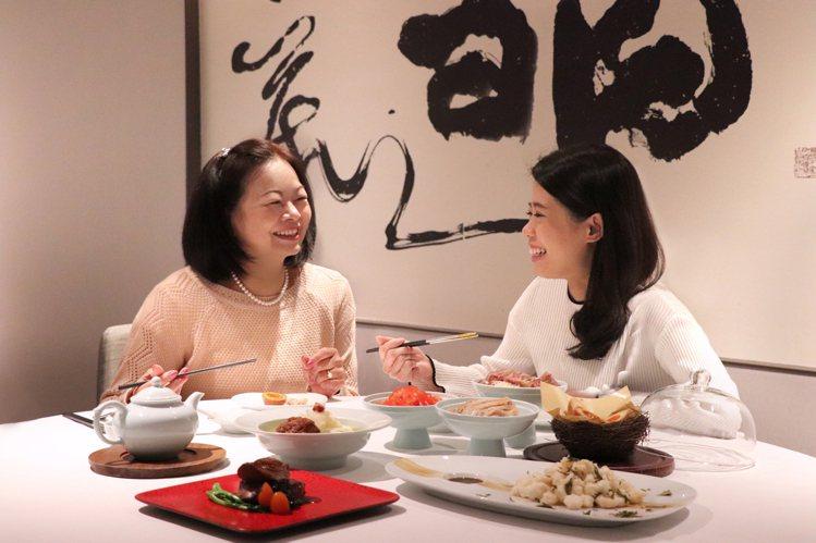 亞都麗緻天香樓的星料理,款待母親最適合。圖/台北亞都麗緻提供