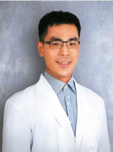 中國醫藥大學附設醫院骨科部主治醫師蕭龐軒。 圖/蕭龐軒醫師提供