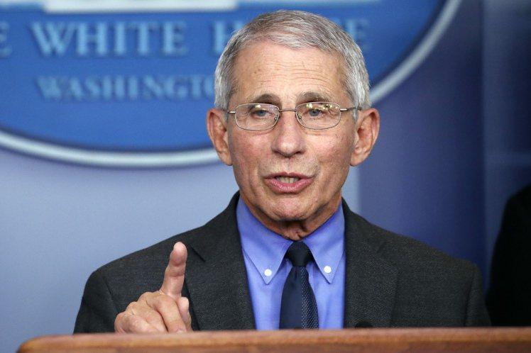 美國白宮防疫團隊的首席專家佛奇。 圖/美聯社