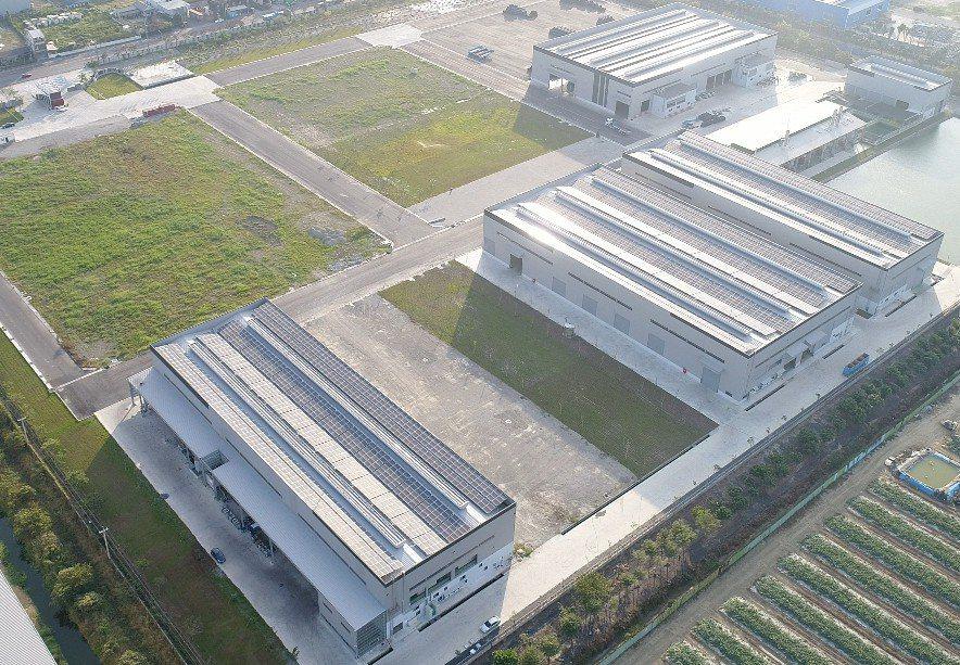 新廠空拍一景。 業者/提供。