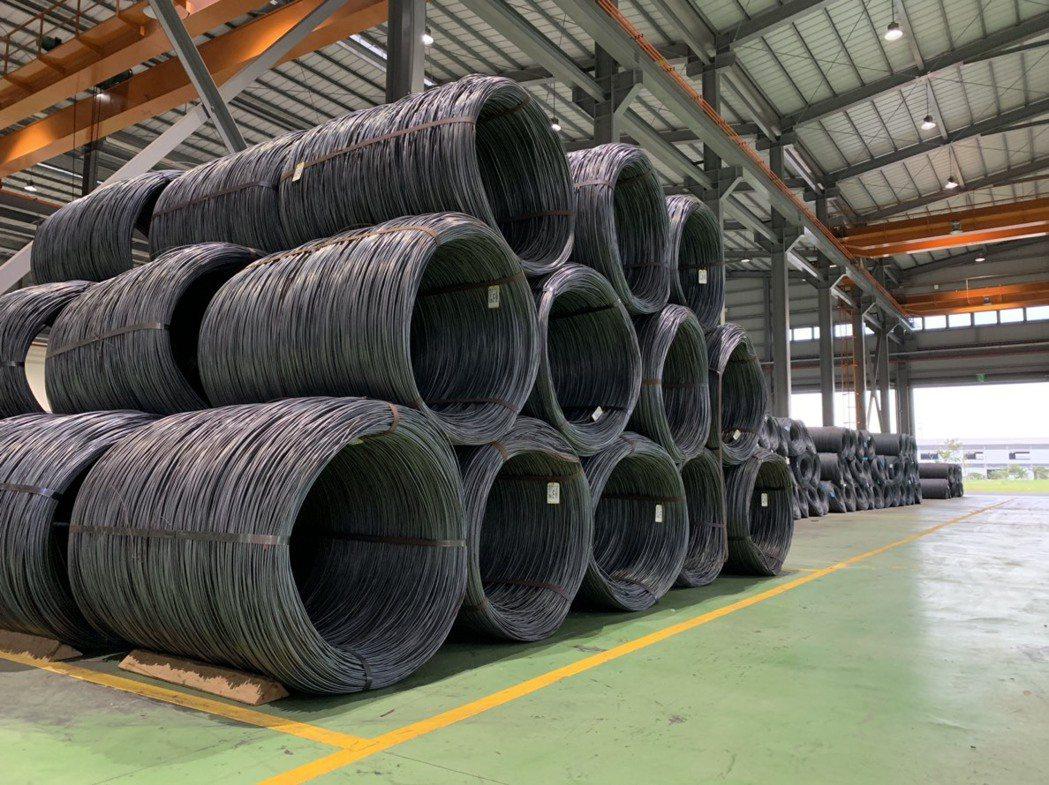 線材原料均來自中鋼,公司內部強調品質控管。 業者/提供。
