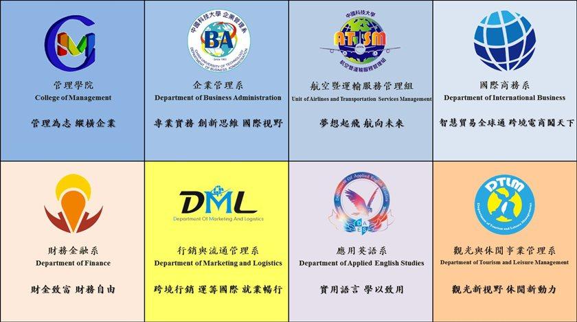 中國科大管理學院109學年招生系組。 校方/提供