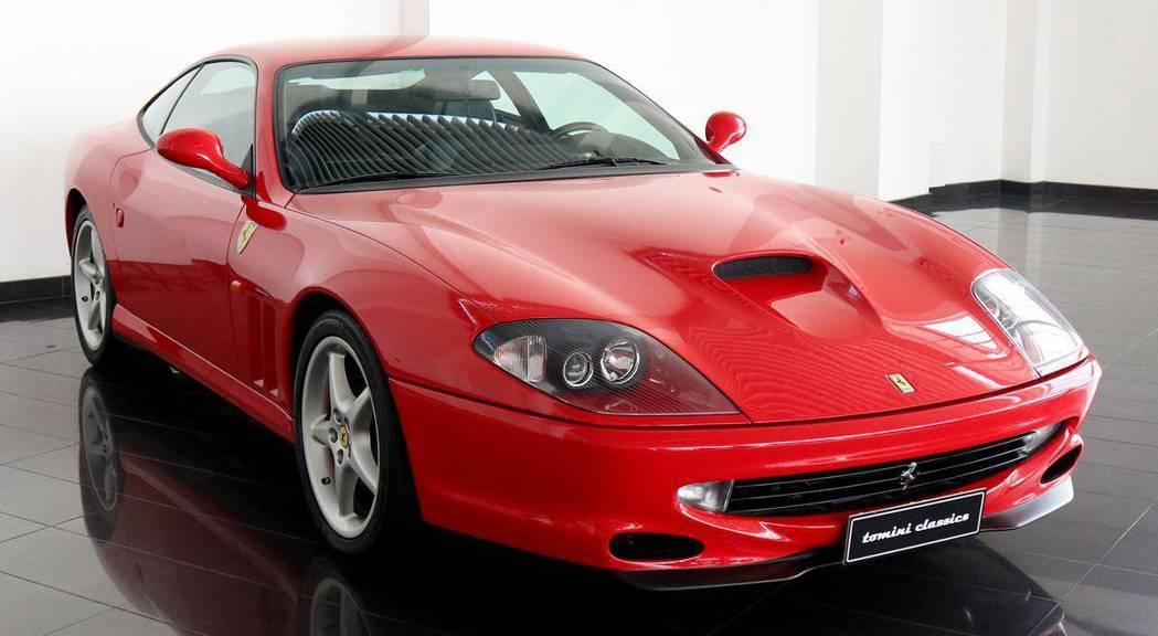 Ferrari 550 Maranello。 摘自Ferrari