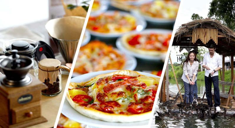 饭店住宿还有竹筏探索与窑烤面包等多项活动可以参加。 图/ 花莲理想大地饭店