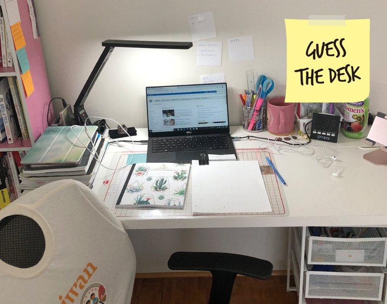 猜猜誰的辦公桌 【英語島編輯室】
