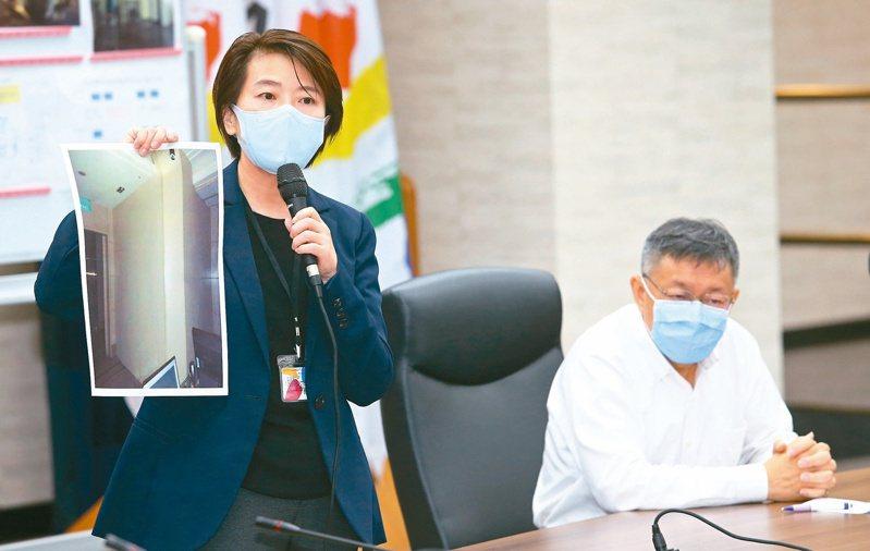 錢櫃大火釀6死慘劇,台北市副市長黃珊珊(左)表示,未來聯合稽查標準,應該會提高到有如此次普查一般的強度。本報系資料照/記者杜建重攝影