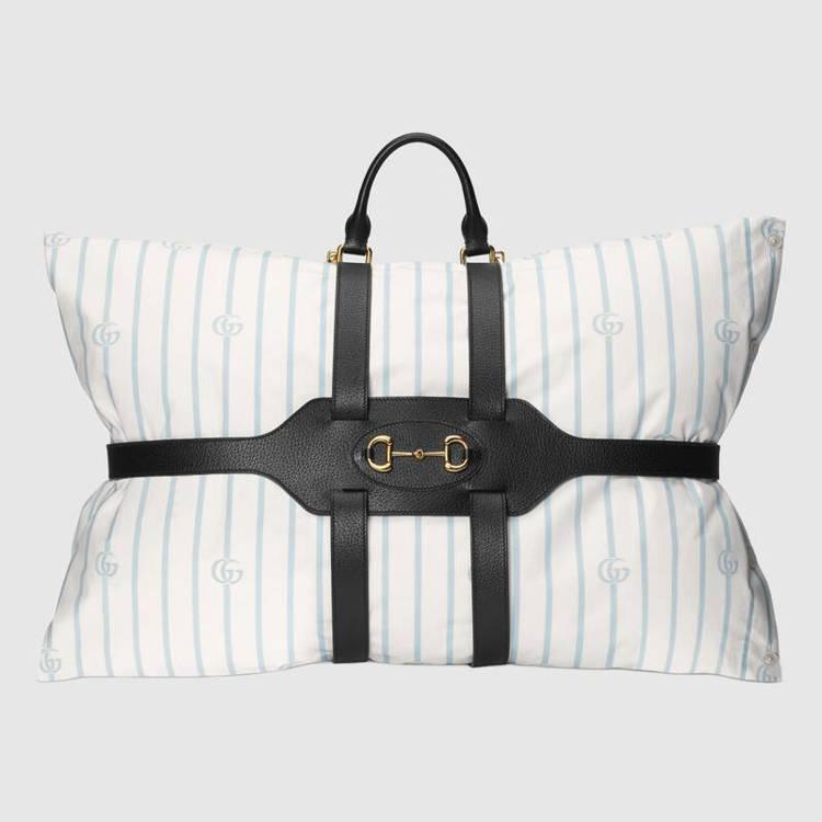 GUCCI枕頭組要價3000美元(約台幣89,830元)。圖/GUCCI提供