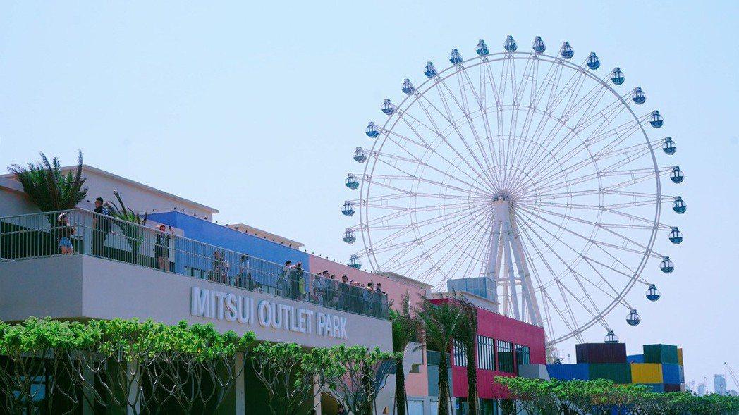 全台首座結合海港的台中三井OUTLET,去年創下800萬人次業績,使清水房市受注...
