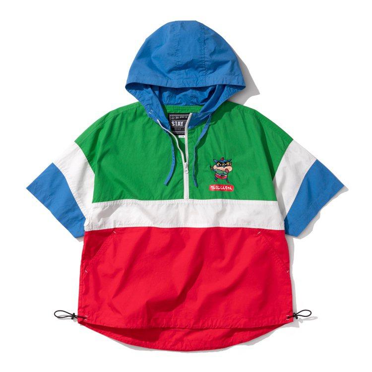 動感小新短袖夾克1,880元。圖/STAYREAL提供