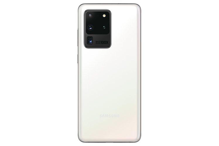 Samsung Galaxy S20 Ultra 256GB「晴空白」預計5月8...