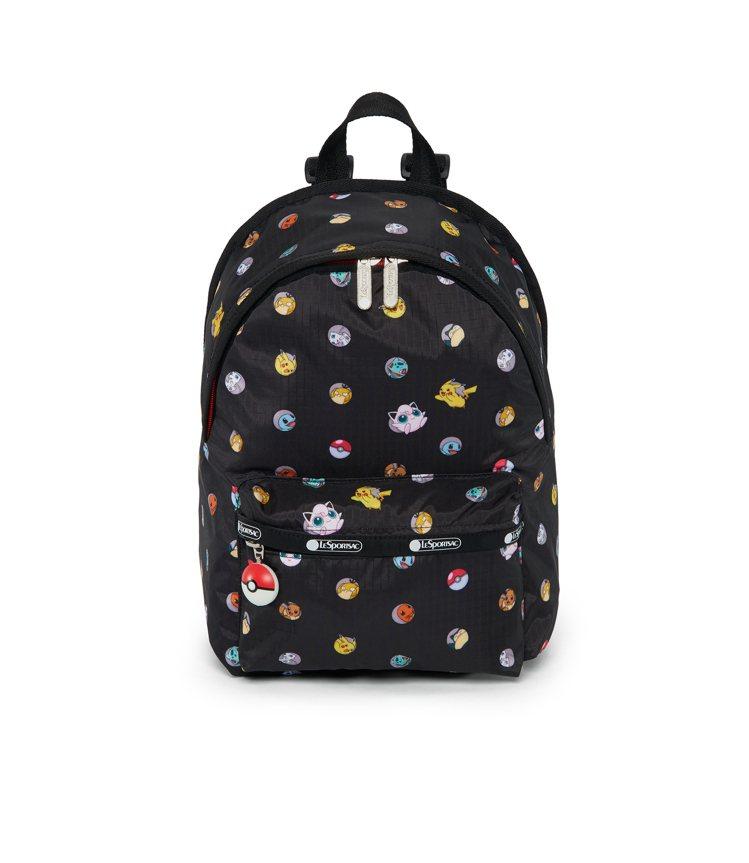 精靈寶可夢小霍利斯後背包,5,650元。圖/LeSportsac提供