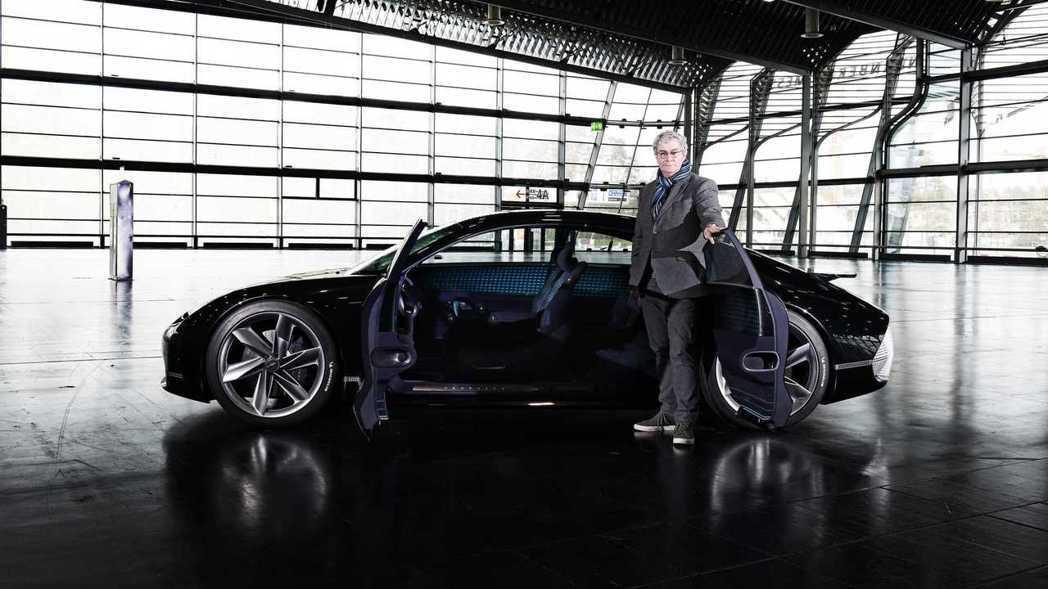 Luc Donckerwolke與他的新作Hyundai Prophecy電動概...