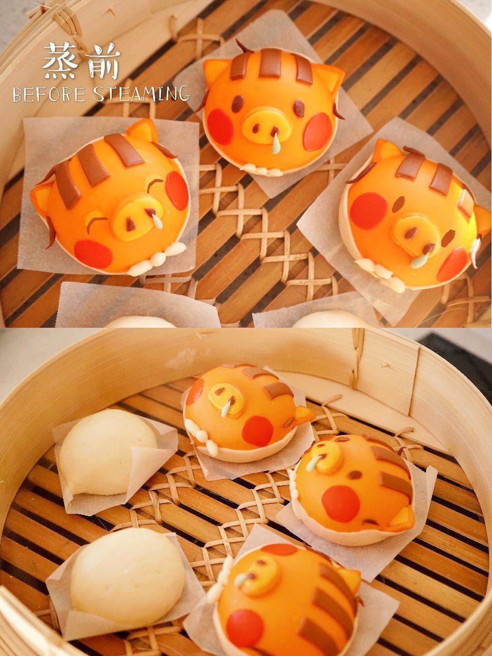 小山豬「曹賣」也做出了多個表情,非常精巧。圖擷自Twitter @Everyda...