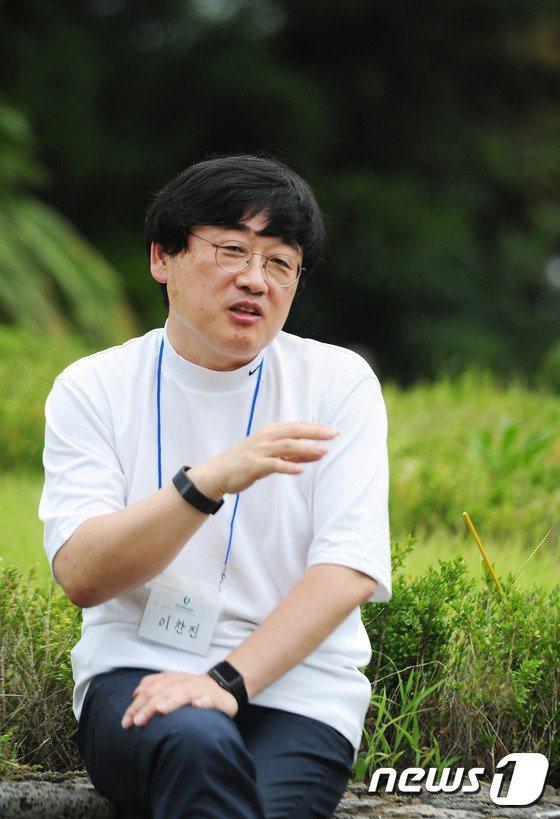 李燦振。 圖/擷自韓網News1