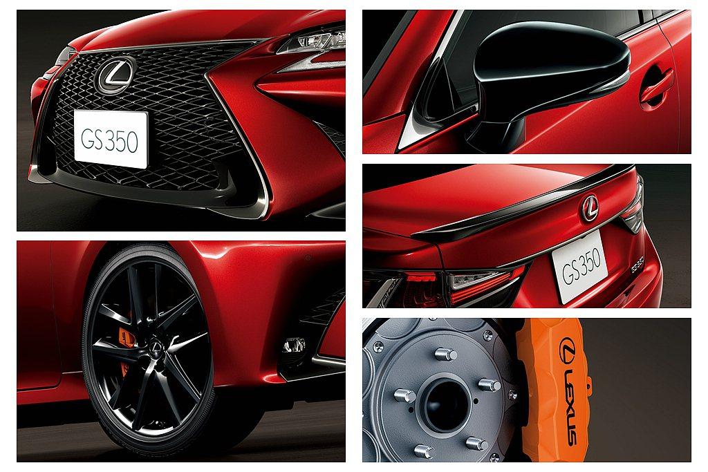 日本Lexus GS Eternal Touring特別版,車頭換上F SPOR...