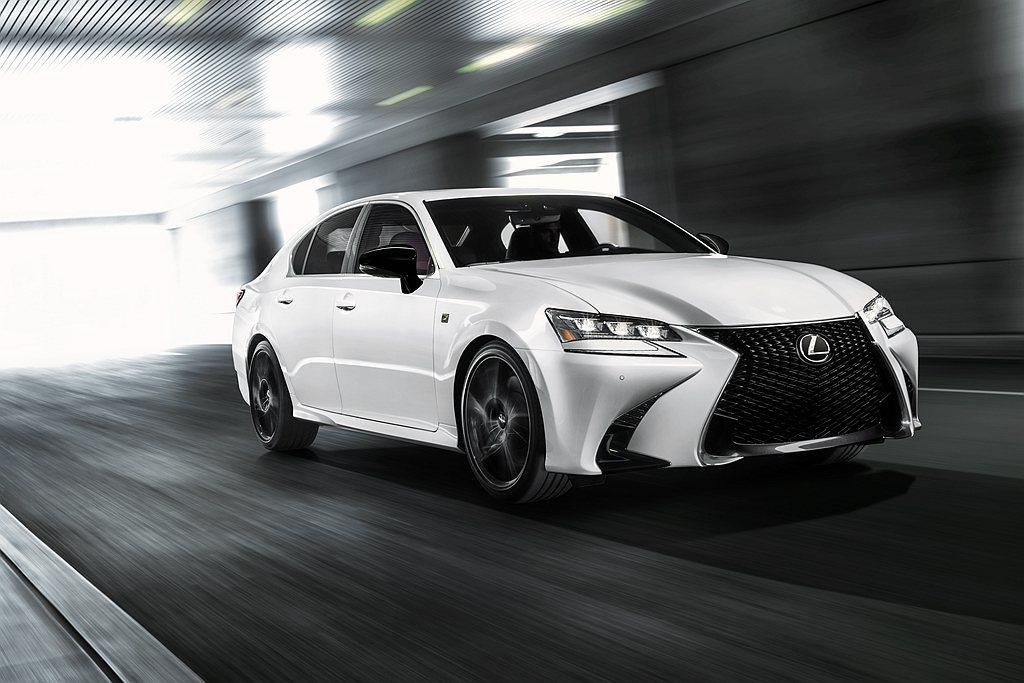 美國市場則是推出Lexus GS Black Line Special Edit...