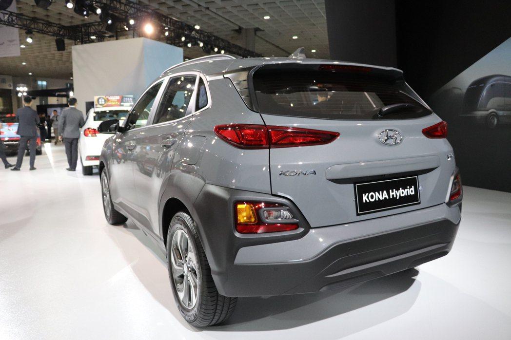 Hyundai Kona Hybrid預售價102.9萬元起。 記者黃俐嘉/攝影