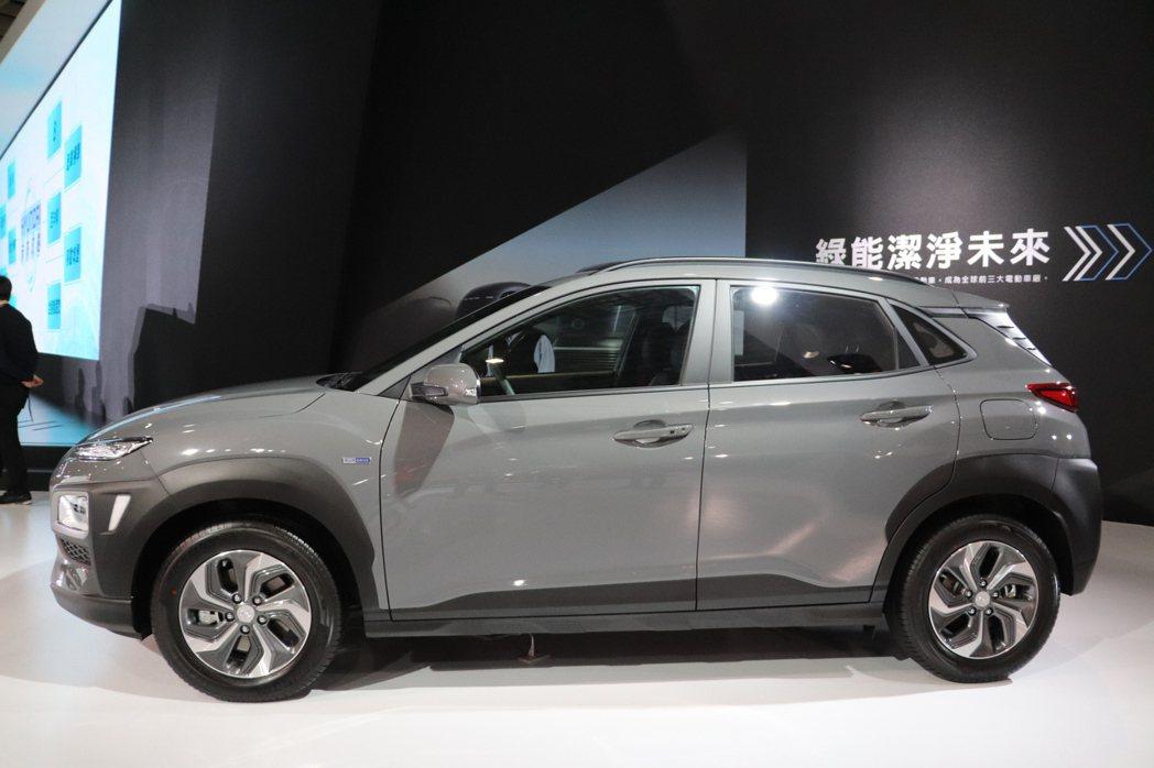 Hyundai Kona Hybrid。 記者黃俐嘉/攝影