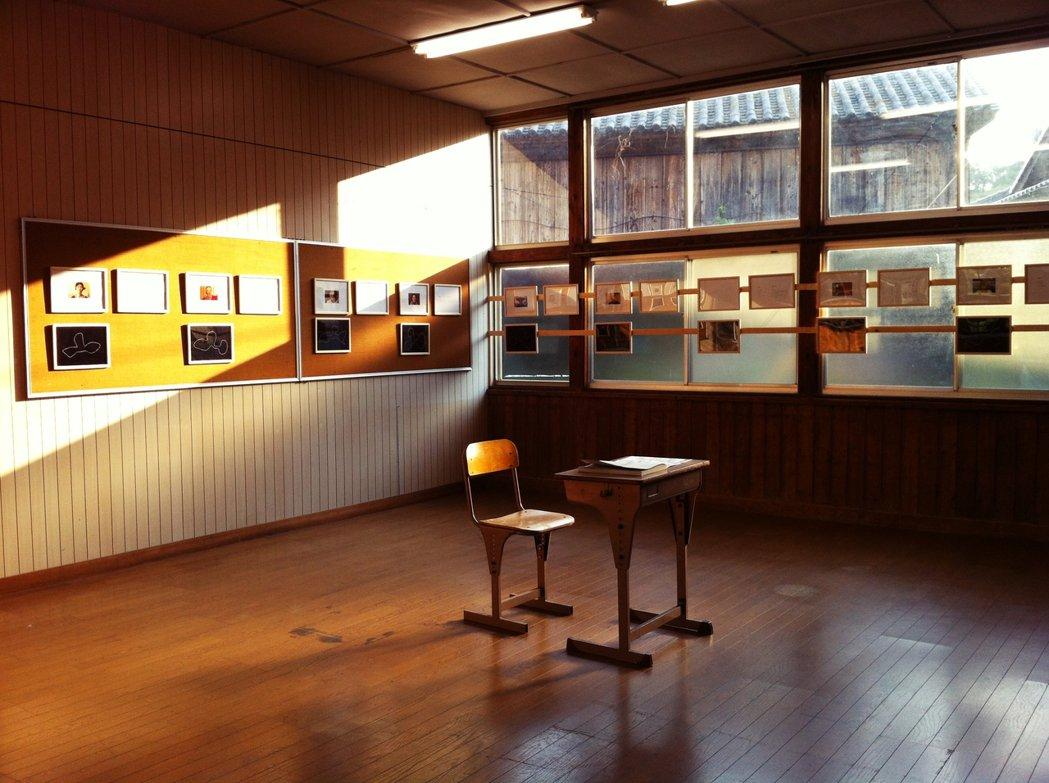 圖為粟島中學校藝術村一景。 圖/作者 Ting 攝影提供