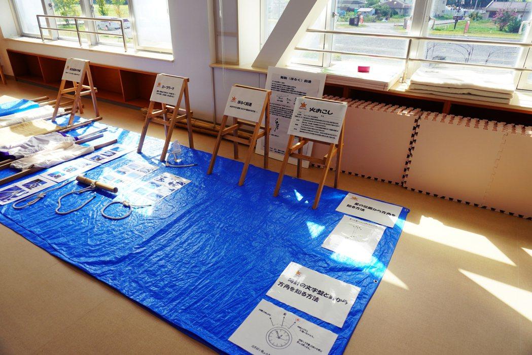KIBOTCHA內的體驗學習區。 圖/作者 Ting 攝影提供