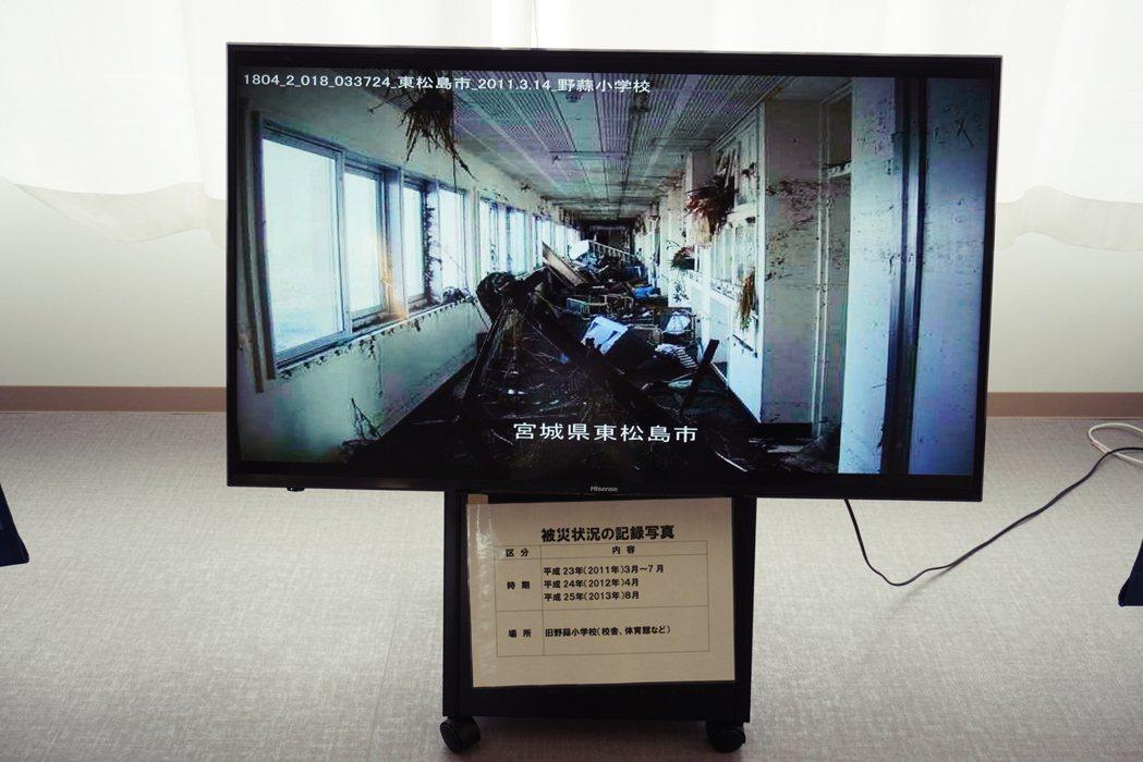 資料館中的照片、影片、文字裝載著讓即使震災時不在現場的人,都能稍稍見到當時情況。...